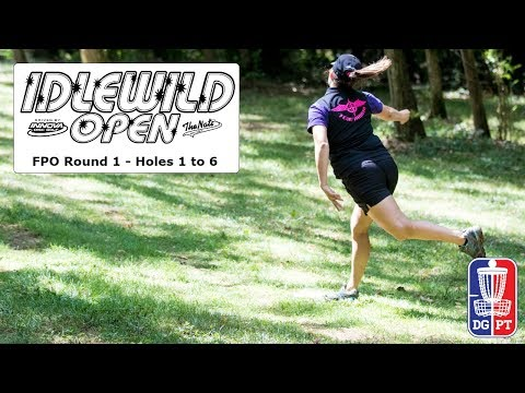 FPO Round 1, Part 1 - Idlewild Open driven by Innova Discs and The Nati Disc Golf