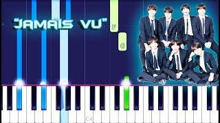 Gambar cover BTS - Jamais Vu Piano Tutorial EASY