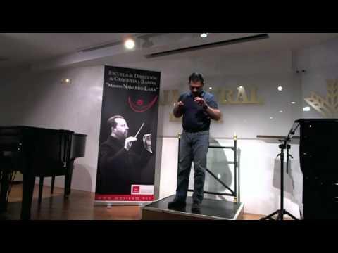 Técnica de Dirección de Orquesta. Escuela de Dirección del Maestro Navarro Lara (I)