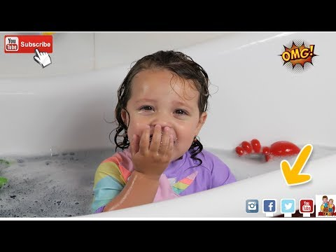 Bath Song Nursery Rhymes For Kids With Sarah And Bros