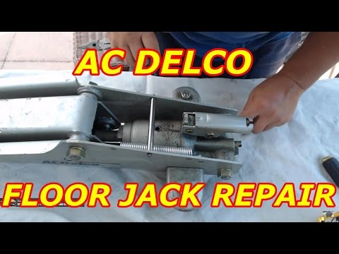How To Repair Your Floor Jack Doovi
