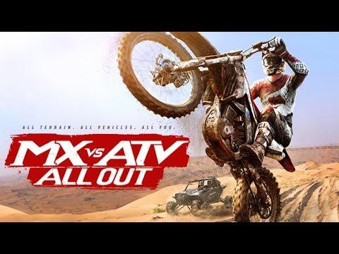Joseph VS. Zachary Episode 227 - MX VS. ATV All Out