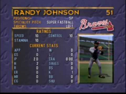 b1e97ee930 Pitching Staff in Griffey on N64 - YouTube