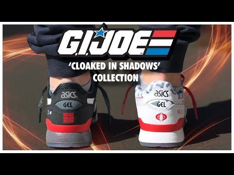 ASICS X G.I. JOE 'Cloaked In Shadows' Collection