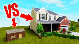 BUILD The BIGGEST HOUSE In Roblox Challenge!