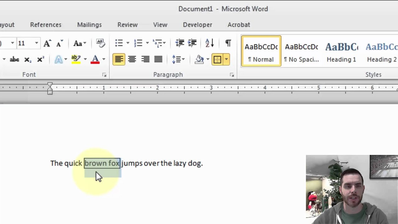 how to put a border around text in a microsoft word document