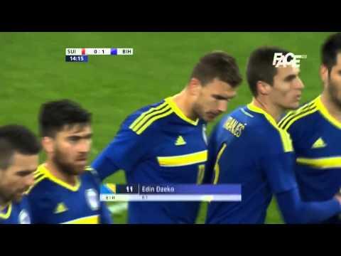 Švicarska 0-2 Bosna-Hercegovina (SUI-BiH) All Goals 29-3-2016-720p-HD (Friendly)