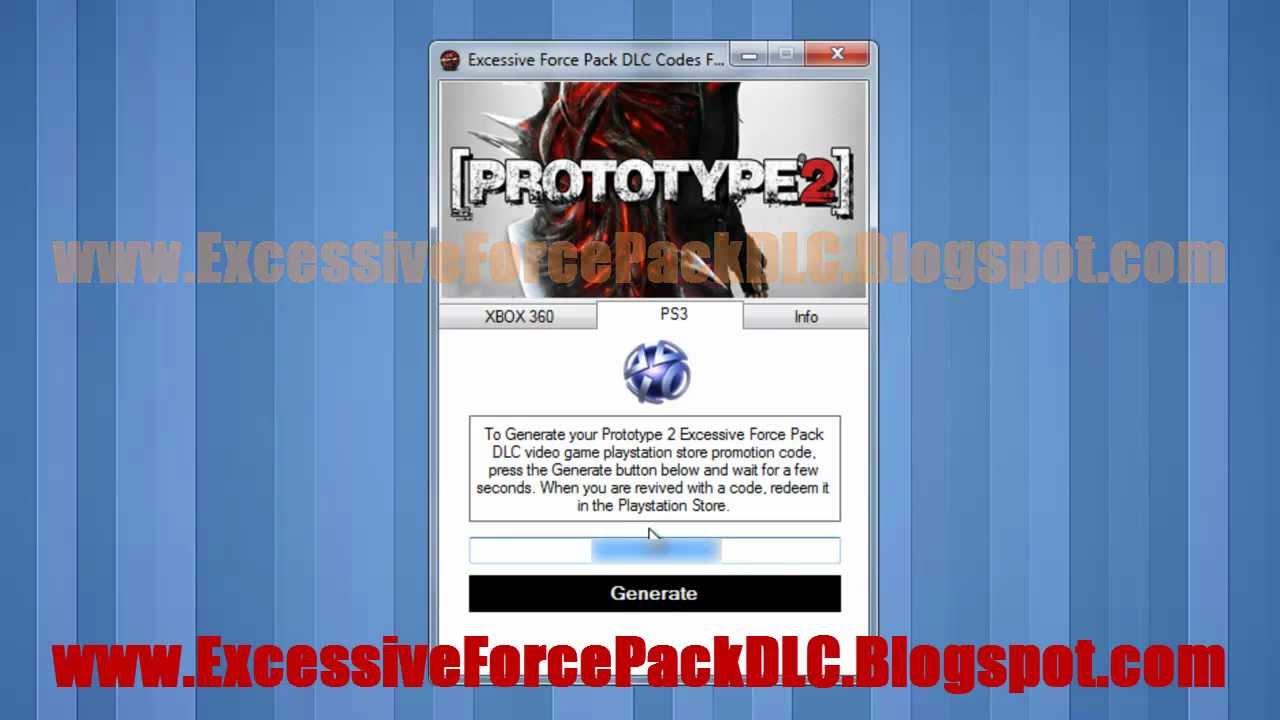prototype 2 dlc how to use