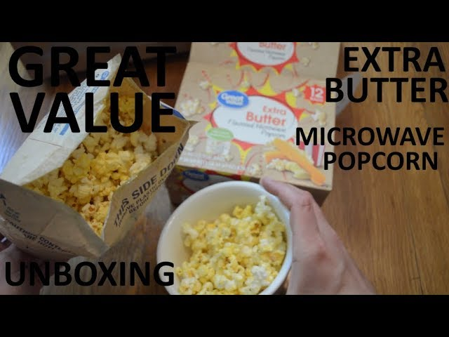 unboxing great value extra butter