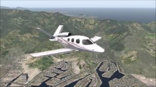 X-Plane 11 Beta - Cirrus Vision SF50 | PHNL to PHOG (VFR/VHF Navigation)