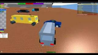Jogando roblox - destruction derby!