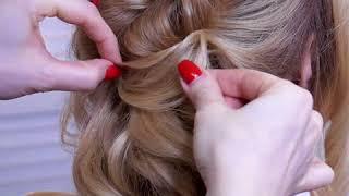 Греческая прическа. Как сделать греческую косу