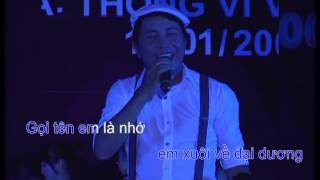 [Karaoke] Gọi tên em - Thanh Sử (St: Thông Vi Vu)
