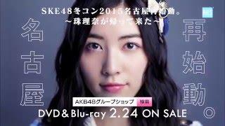 SKE48冬コン2015 名古屋再始動。~珠理奈が帰って来た~ 2016/02 DVD&B...