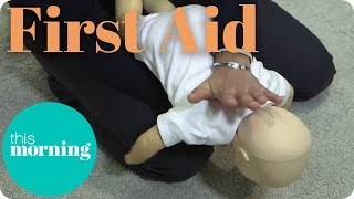 First Aid - How to Stop an Adult or Baby From Choking I This Morning