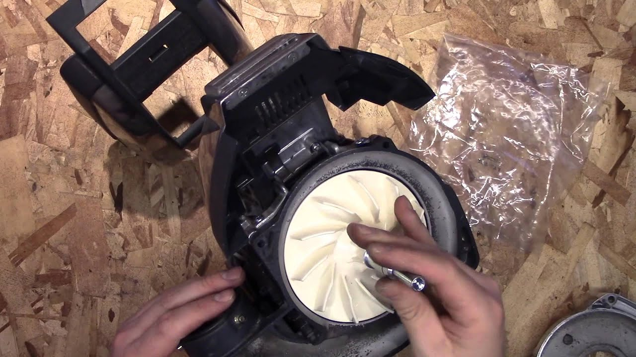 kirby vacuum fan repair how to youtubekirby vacuum fan repair how to [ 1280 x 720 Pixel ]