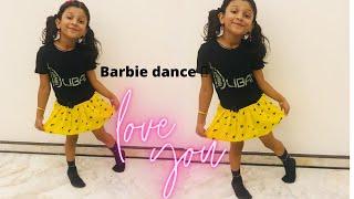 Barbie dance cover/ ambam badi disco badi song / Barbie solo dance dance 💃 💃
