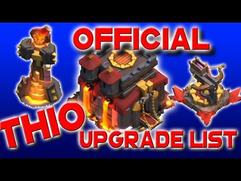 OFFICIAL Clash of Clans TH10 Upgrade Priority List & Order Guide