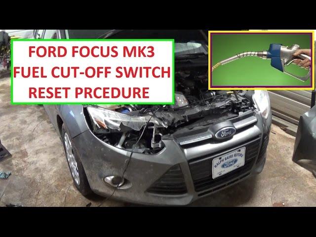 Inertia Switch Focus 2012 Ford Forum St Rhfocusfanatics: Ford Focus Fuel Reset On Location At Gmaili.net
