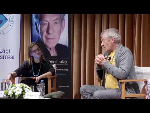 Sir Ian McKellen festival sohbeti // Boğaziçi Üniversitesi