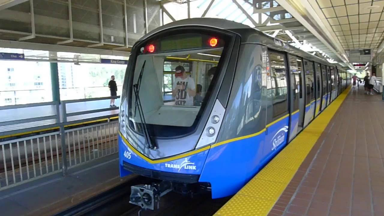 how to get to metropolis by skytrain from richmond