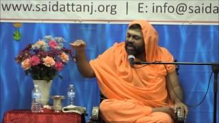 Sri Paripoornananda Swamiji discourse at Sai Datta Peetham, NJ - (Day 1) - June 19, 2014.