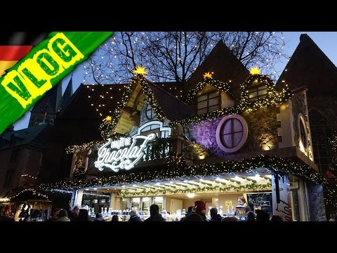 GERMAN VLOG | Christmas Market & Irish Pub In Bremen, Germany! | VlogDave