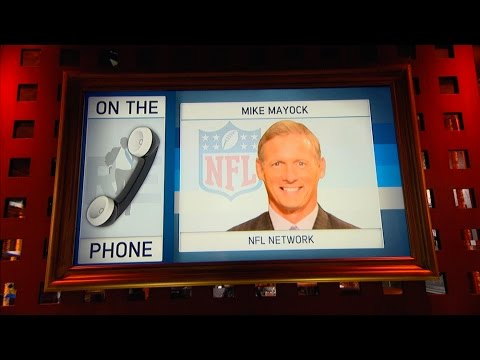 NFL Network Analyst Mike Mayock Talks NFL Draft, Adrian Peterson & More - 2/28/17