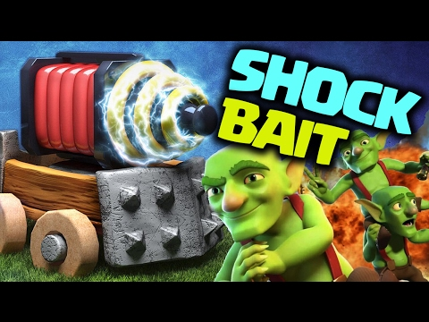 SHOCK BAIT - Insane Clash Royale PRO DECK Guide w/ TopNotch