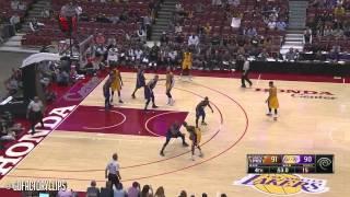 Kobe vs Suns (Preseason 2014)