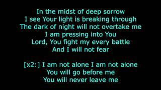 Kari Jobe - I Am Not Alone (karaoke)
