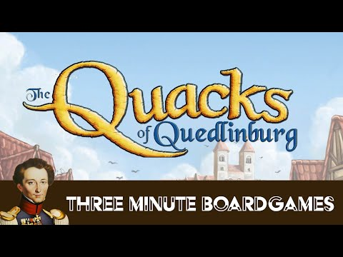 The Quacks of Quedlinburg in about 3 minutes
