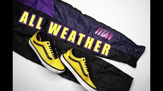 ALL WEATHER SNEAKER AND PANTS