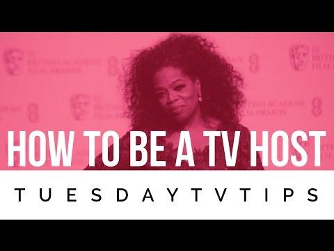 How To Be A TV Host (Oprah Winfrey)