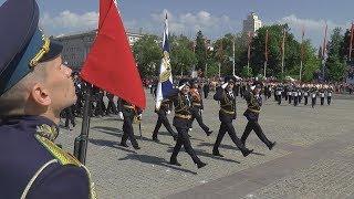 День Победы Воронеж Военный парад