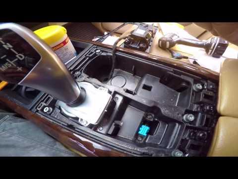 DIY: BMW X5 Parking brake switch module replacement.