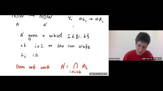 Introduction to Automata on Infinite Words 6