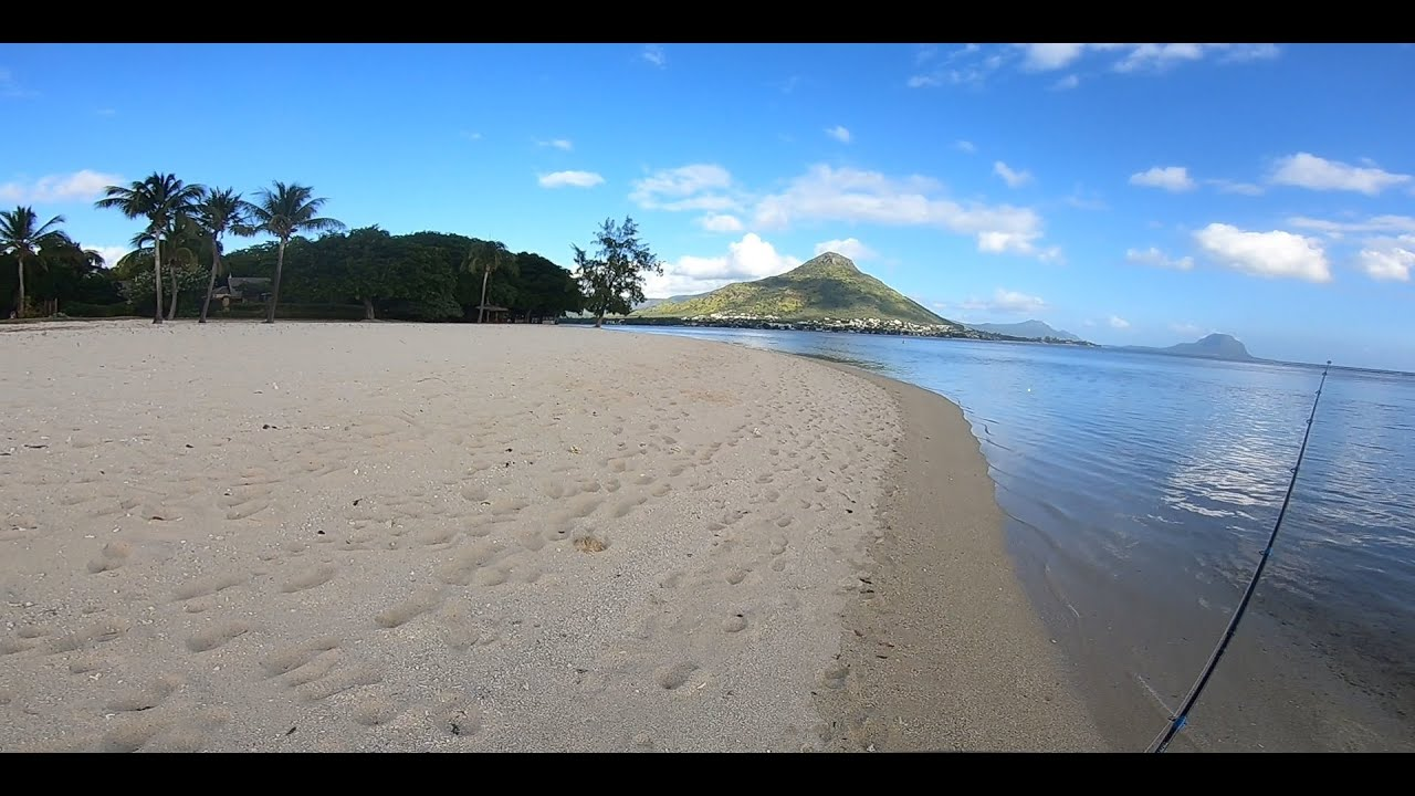 Ep#6 - Shore Casting at Wolmar during Low tide- Fishing in Mauritius...