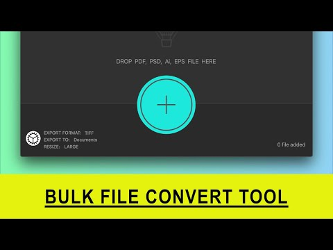 How to Convert Multi Page PDF's into JPG's - Bulk Photo Convert Tool