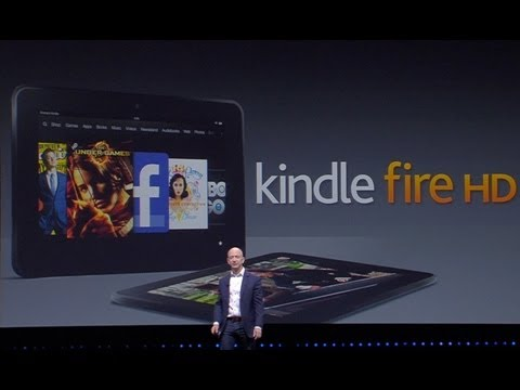 Amazon Kindle Paperwhite, Fire HD Press Event