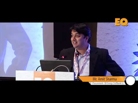 Amit Sharma GM - Procurement - SB Energy (Softbank Group) at EQ SolarTech Conference