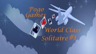 Pogo Games ~ World Class Solitaire #1