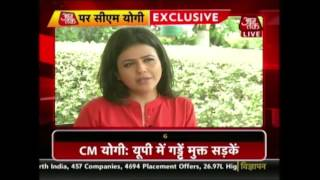 Exclusive Interview Of Yogi Adityanath With Aaj Tak From Varanasi