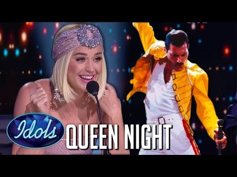 TOP 8 Auditions on QUEEN NIGHT on American Idol 2019  Idols Global