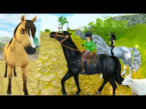 Where Are You Spirit? Star Stable Horses Game Let's Play with Honeyheartsc Video
