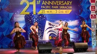 การแสดงโรงเรียนติกาหลังนาฏศิลป์ไทย ชุดเมดเลย์อีสาน