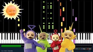 TELETUBBIES SONG !!