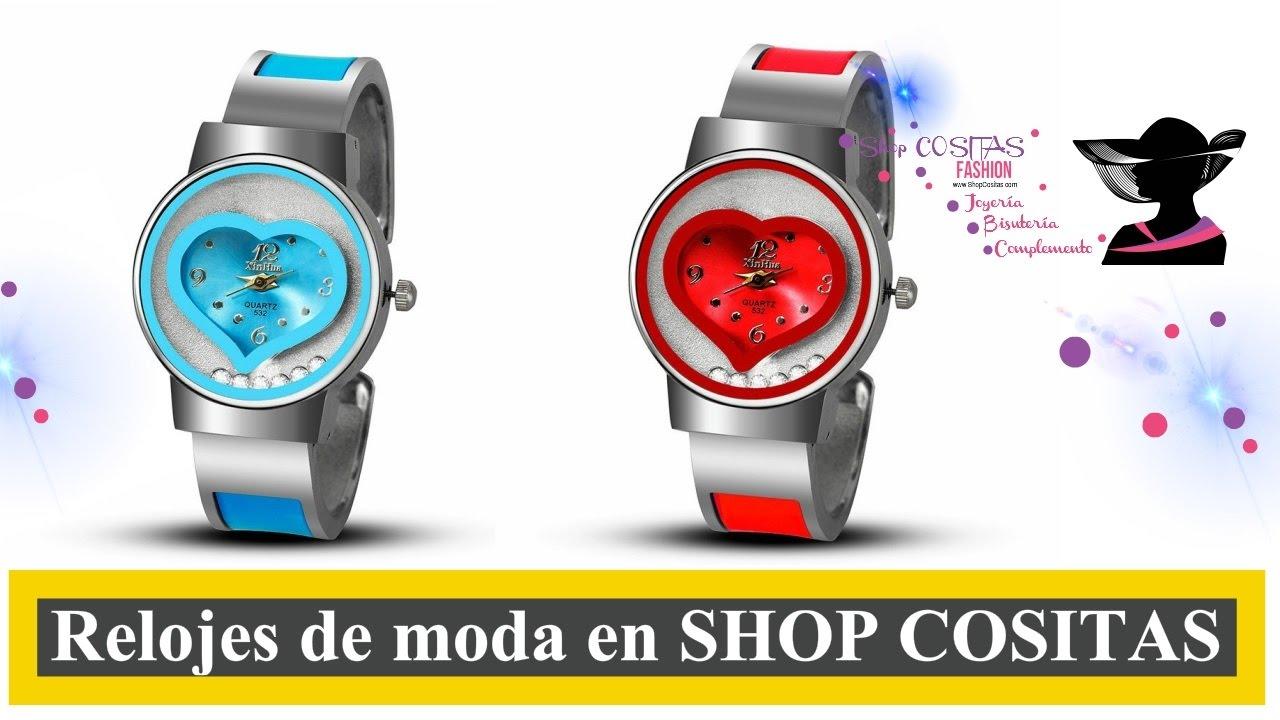 4cb1926904ee Comprar relojes online mujer - SHOP COSITAS - YouTube