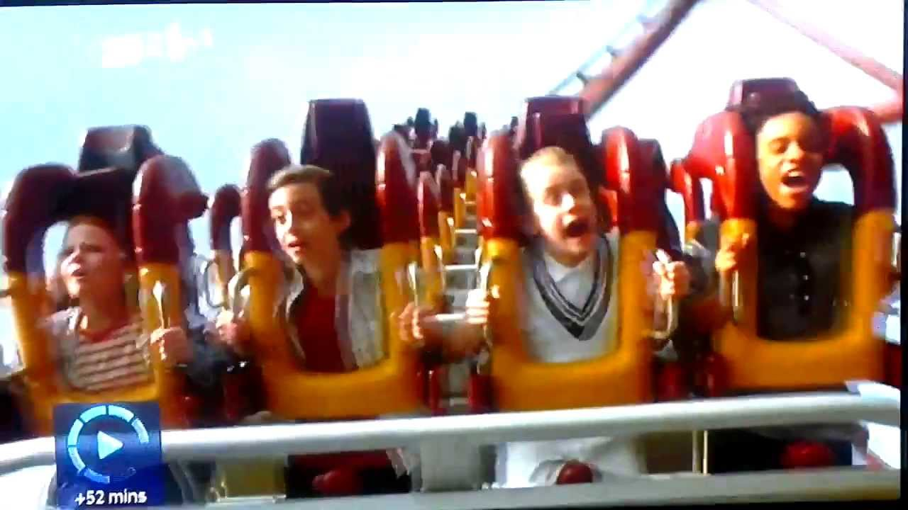 richie rich rollercoaster plane crash youtube