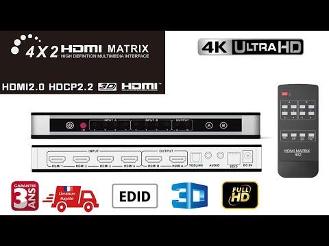 HDMI мини превключвател с дистанционно управление 5IN1 THUNDEAL CA36 10